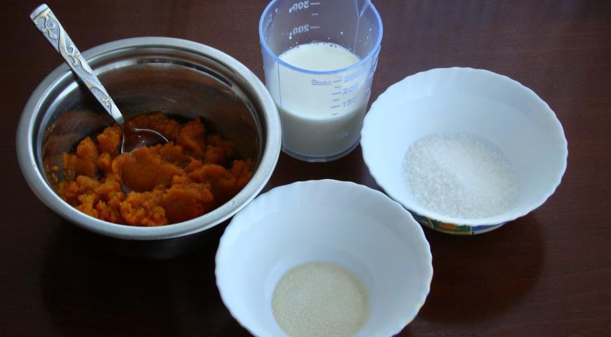Пташине молоко з гарбуза