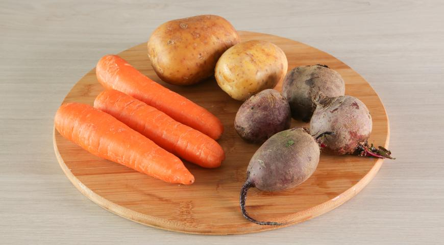 Селедка под шубой - классический рецепт, пошаговый рецепт с фото