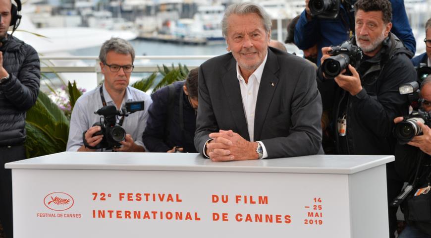 Ален Делон на 72-ом кинофестивале в Каннах