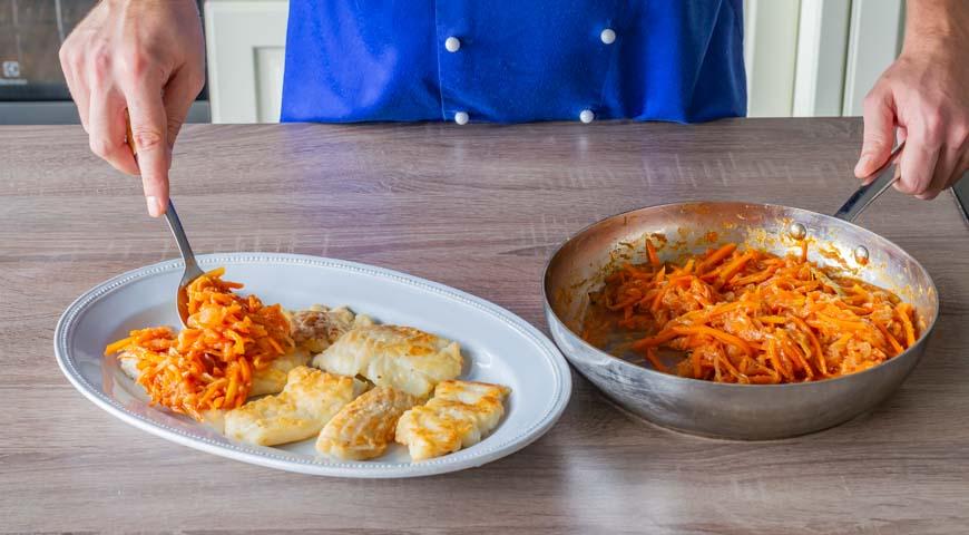 Рыба под маринадом, пошаговый рецепт с фото