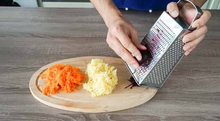 Вкусный рецепт салата Гранатовый браслет, пошаговый рецепт с фото