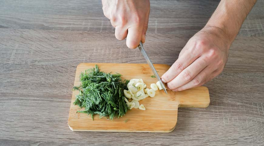 Малосольные огурцы в пакете, пошаговый рецепт с фото