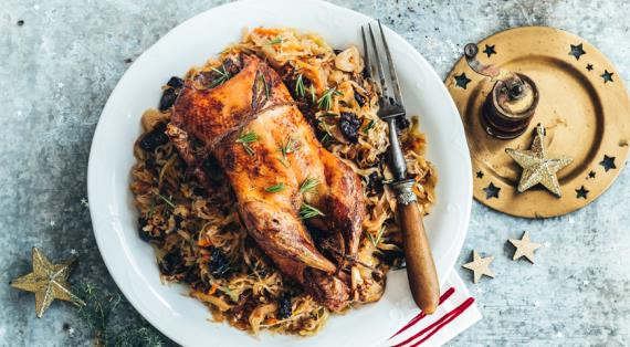Готовимся к Новому году: 6 праздничных блюд с уткой