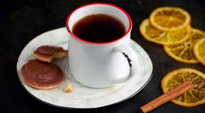 Зимний чай егеря, пошаговый рецепт с фото