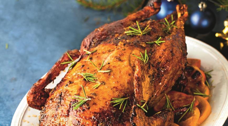 Новогодняя утка, пошаговый рецепт с фото