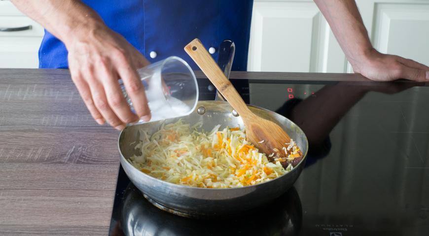 Ленивые голубцы на сковороде, пошаговый рецепт с фото