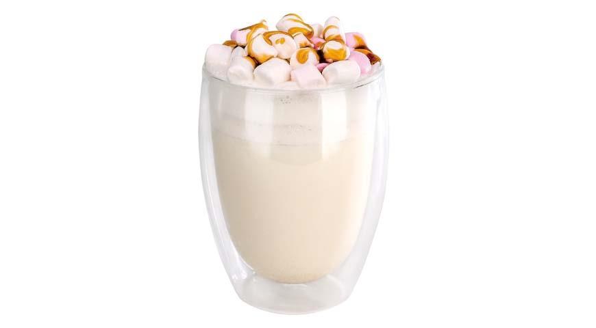 Молочный чай-латте «Яблочный пирог с карамелью»