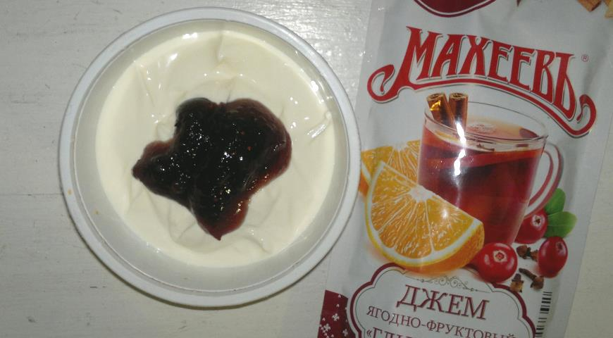 """Рисово-фруктовый десерт с """"Махеевъ"""", пошаговый рецепт с фото"""