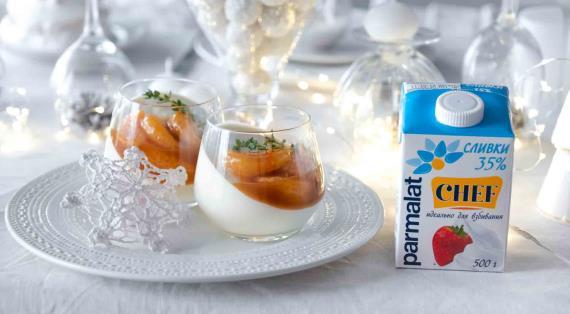 """Свежий салат с мандариновой заправкой """"Новогодние традиции"""" – кулинарный рецепт"""