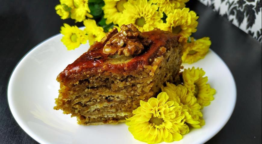 Пахлава медовая, пошаговый рецепт с фото