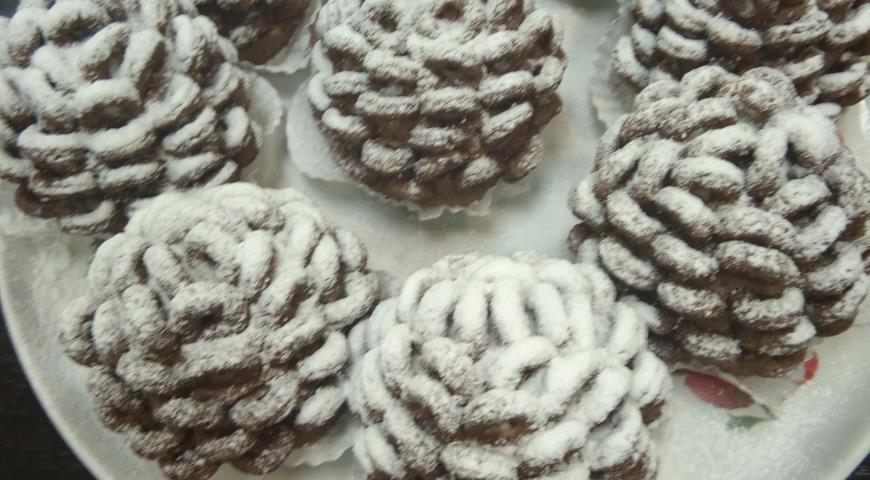 Десерт Кедровая шишка, пошаговый рецепт с фото