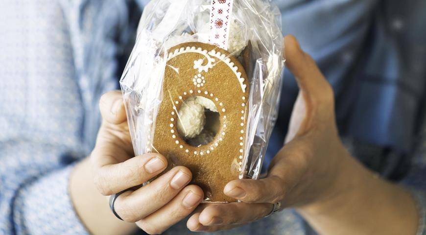 Пряничный домик Медовая шкатулка, пошаговый рецепт с фото