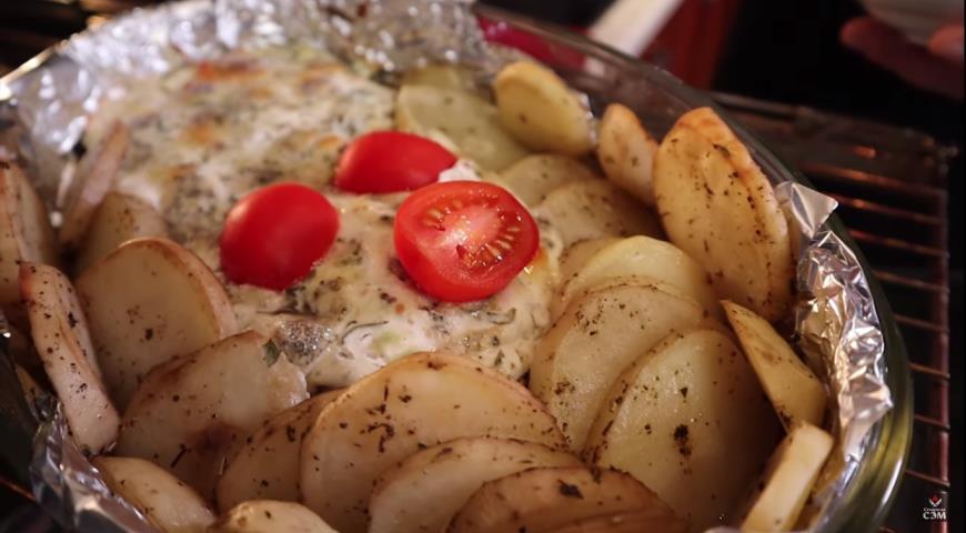 Мясо по-французски с греческим йогуртом , пошаговый рецепт с фото