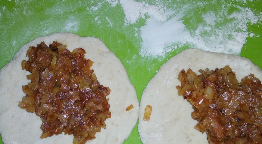 Пирожки с капустой и тыквой, пошаговый рецепт с фото