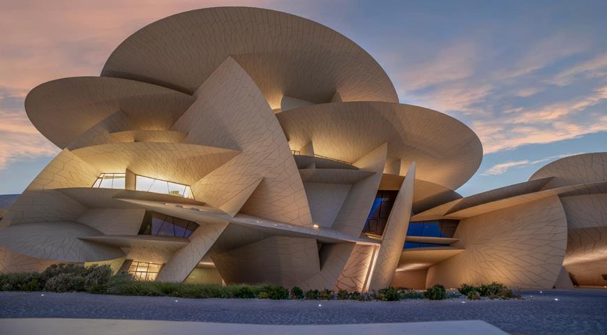 Музей Жан Нувель в Доке, Катар
