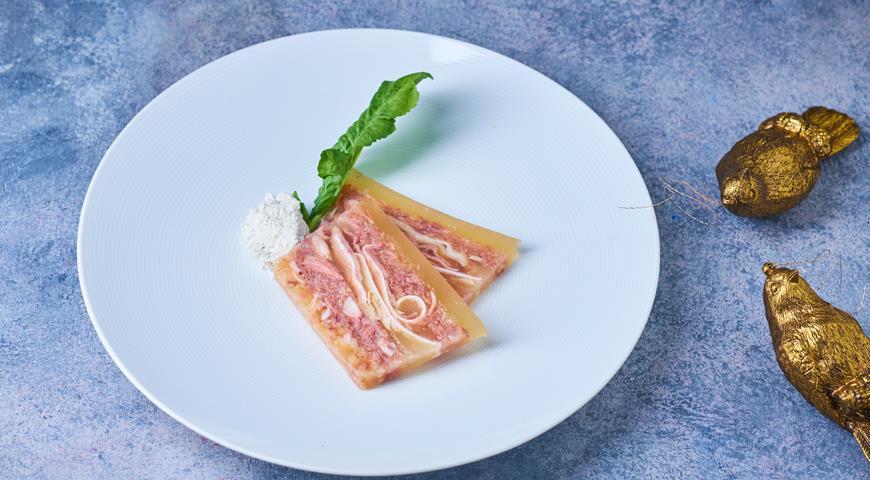 Студень из свинины, пошаговый рецепт с фото