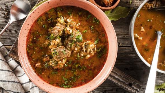 Коллекция рецептов супа Харчо на сайте Гастроном.ру