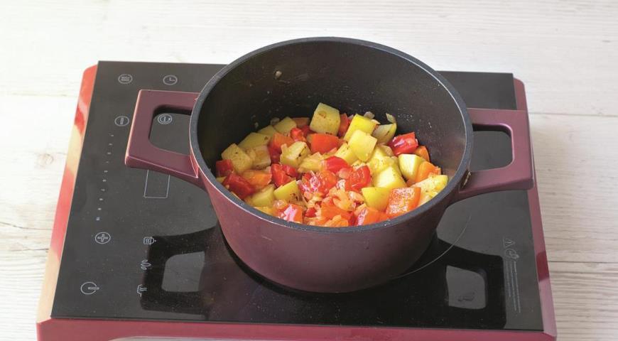 Суп из консервированной сайры с овощами, пошаговый рецепт с фото