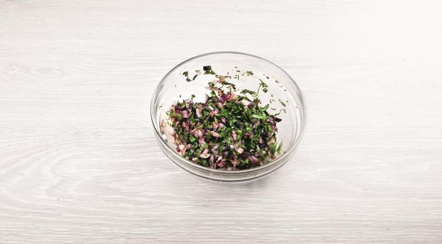 Салат из свеклы с пряной заправкой, пошаговый рецепт с фото