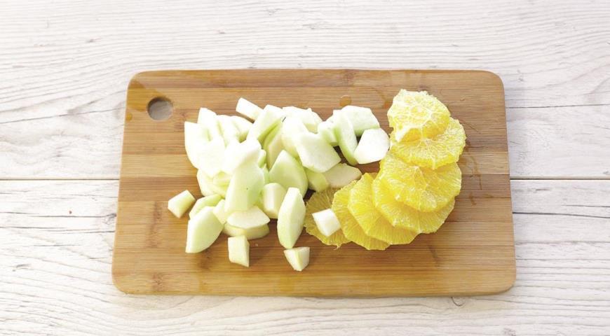 Компот из зимних фруктов и чая улун, пошаговый рецепт с фото