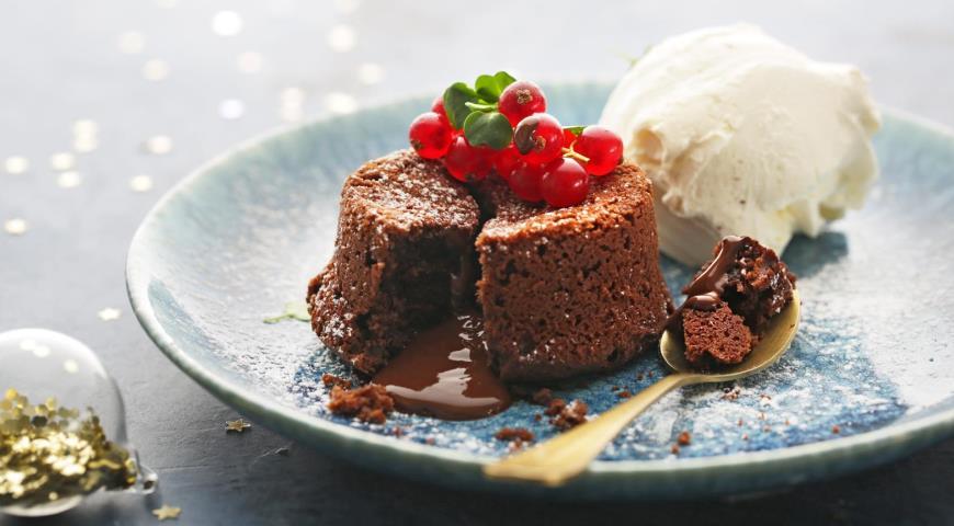 Шоколадный фондан, пошаговый рецепт с фото