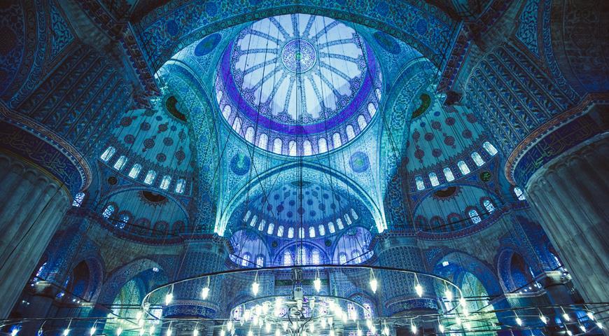 Если вы еще не были в Стамбуле Голубая мечеть в районе Султанахмет