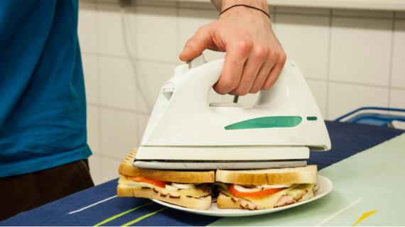 Как «погладить» еду: кулинарные блюда со вкусом утюга