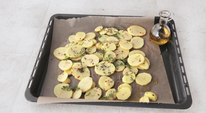 Рыба с картошкой в духовке, пошаговый рецепт с фото