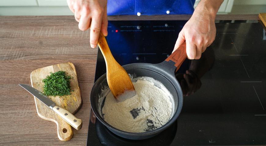 Жюльен из грибов, приготовьте соус