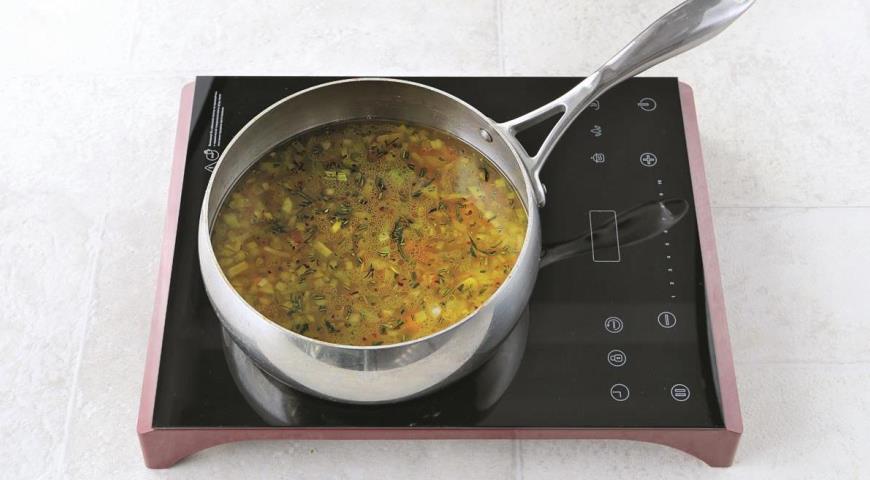 Крем-суп из белой фасоли с кейлом, пошаговый рецепт с фото