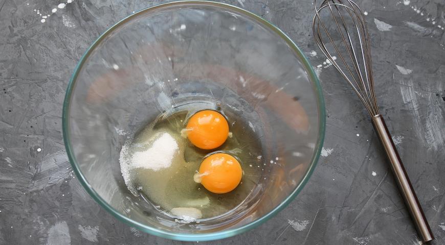 Фото приготовления рецепта: Блинный торт с курицей и грибами , шаг №1