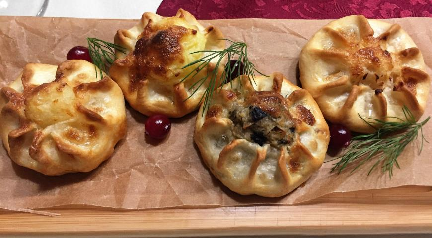 Кулиги с грибами, пошаговый рецепт с фото