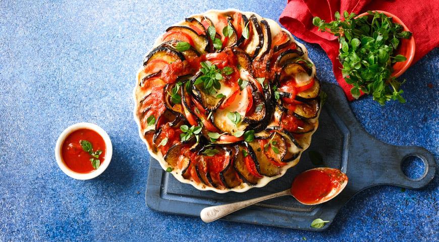 Баклажаны с сыром и помидорами, пошаговый рецепт с фото