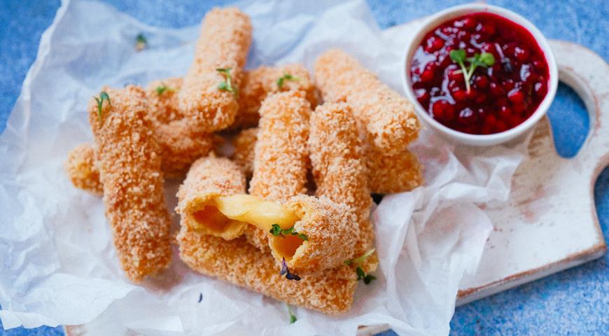 Сырные палочки, пошаговый рецепт с фото