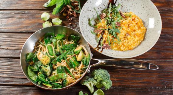 Постные и вегетарианские блюда в кафе «Руккола» – не отказывайте себе во вкусе!