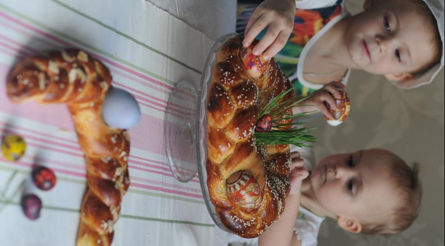 Греческий пасхальный хлеб, пошаговый рецепт с фото