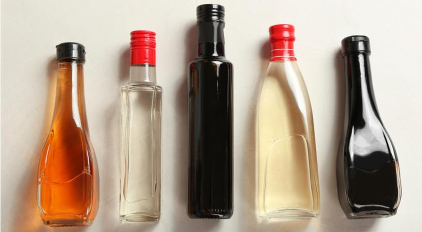 Такой разный уксус: винный, рисовый, яблочный и бальзамический