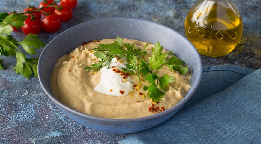 Суп с баклажанами и помидорами, Заходник