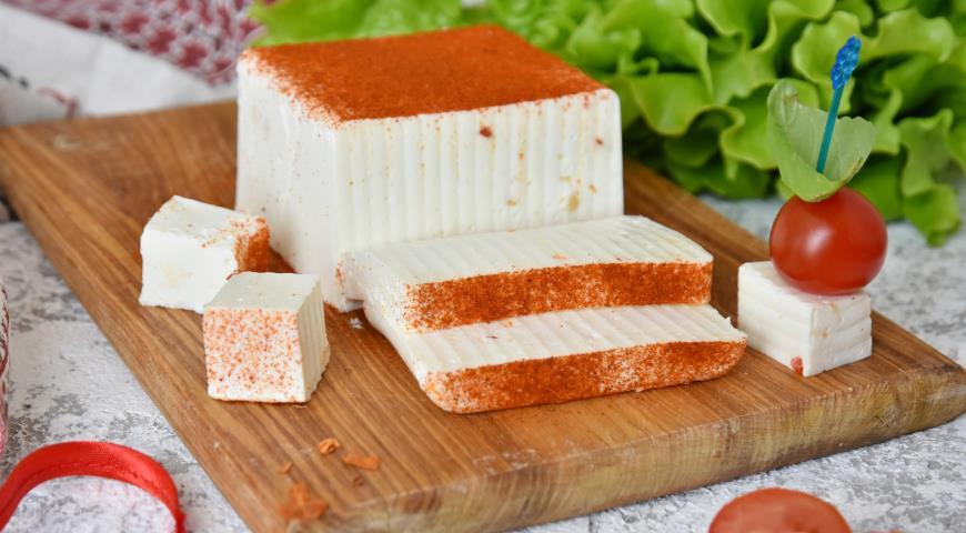 Сыр брынза имитация
