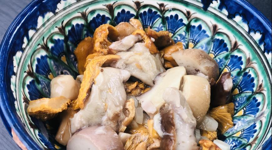 Лесные грибочки, пошаговый рецепт с фото