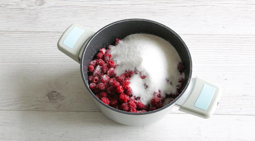 Варенье из малины на зиму, пошаговый рецепт с фото