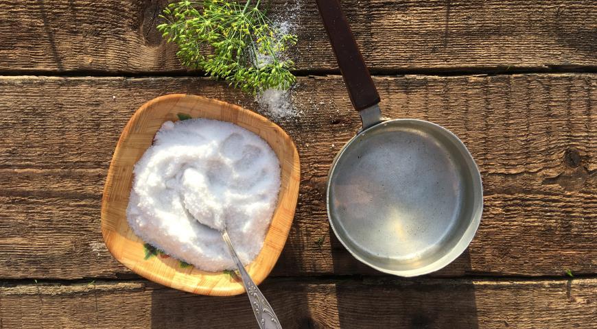 Солёные огурцы, пошаговый рецепт с фото