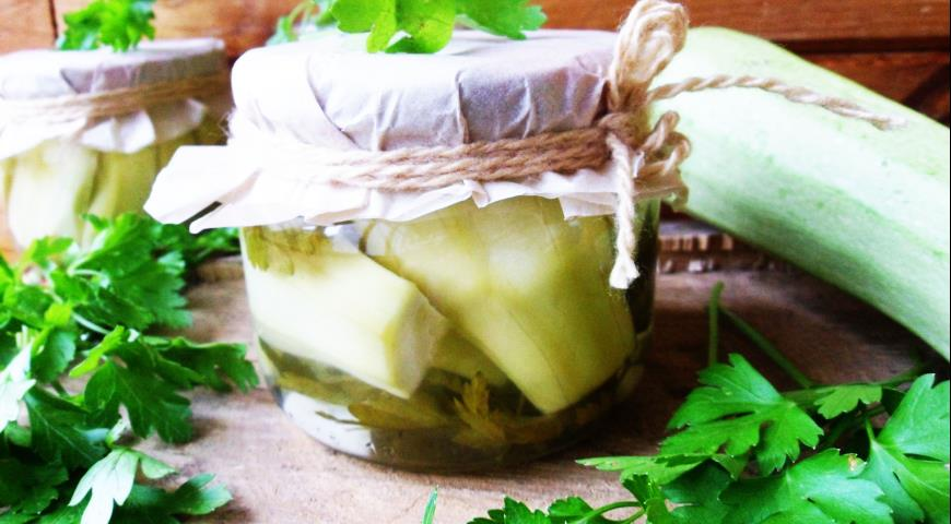 Кабачки по-венгерски на зиму, пошаговый рецепт с фото