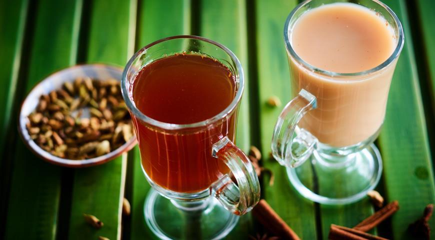 Бандрек, пряный имбирный чай, пошаговый рецепт с фото
