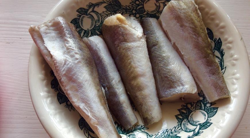 Жареный хек в пряной панировке, пошаговый рецепт с фото