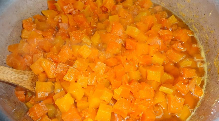 Варенье из тыквы с имбирём и цитрусовыми, пошаговый рецепт с фото