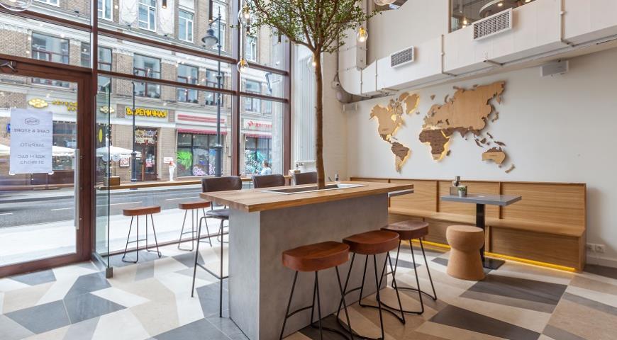 В Москве открылась вторая в мире кофейня Paulig Cafe&Store