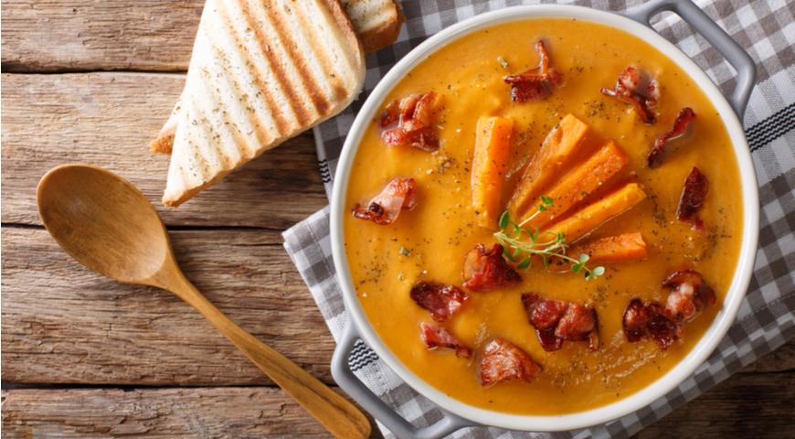 Как приготовить вкусный суп-пюре из тыквы: 11 рецептов тыквенного супа