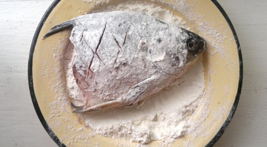 Жареные караси, пошаговый рецепт с фото