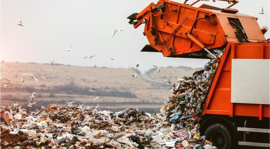 К 2030 году планируется сократить объем мусора, направляемого на полигоны, в 2 раза